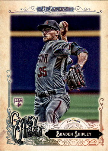 Photo of 2017 Topps Gypsy Queen #21 Braden Shipley Rookie Card