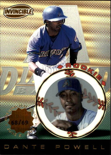 Photo of 1999 Pacific Invincible Opening Day #9 Dante Powell