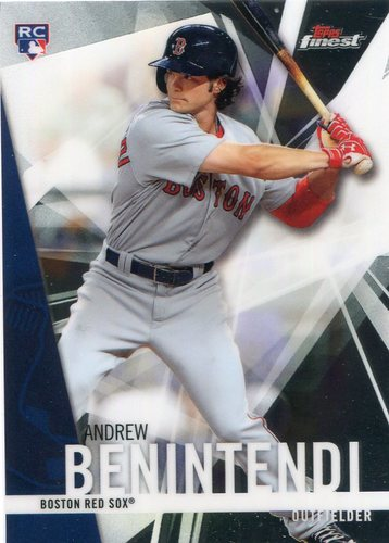 Photo of 2017 Finest #66 Andrew Benintendi RC