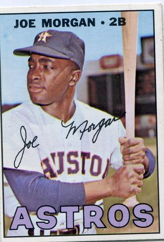 Photo of 1967 Topps #337 Joe Morgan -- Hall of Famer