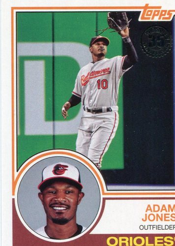 Photo of 2018 Topps '83 Topps #8373 Adam Jones