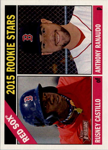 Photo of 2015 Topps Heritage #356 Anthony Ranaudo RC/Rusney Castillo RC