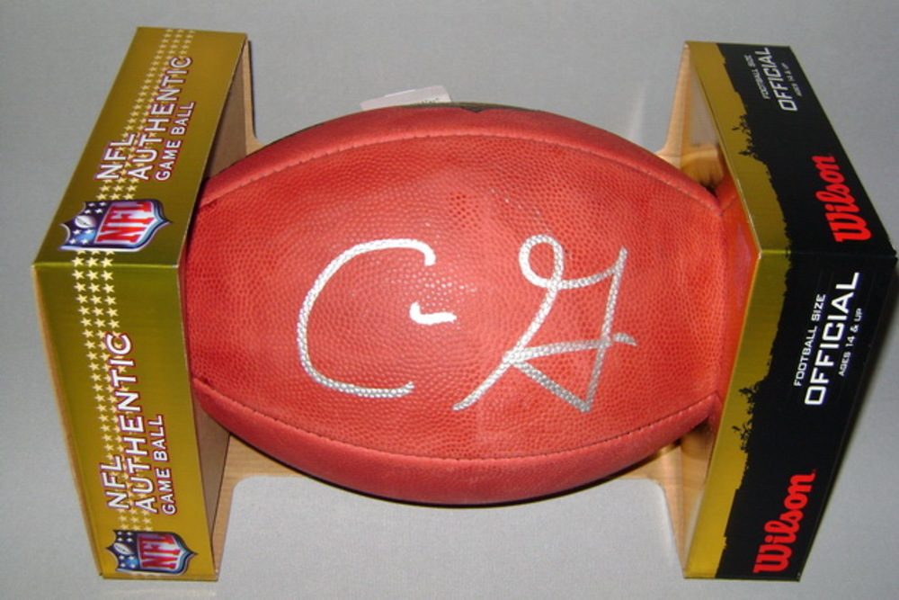 NFL - BUCCANEERS CHRIS GODWIN SIGNED AUTHENTIC FOOTBALL