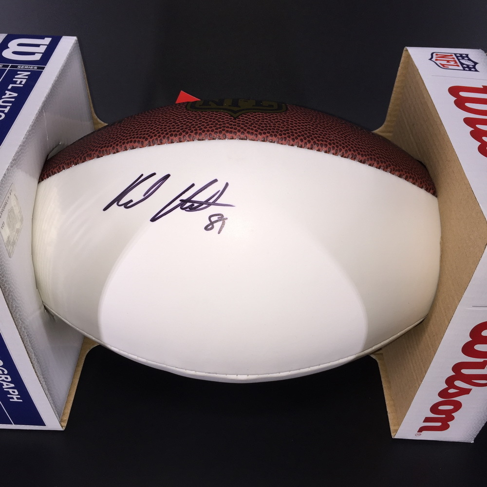 NFL - Ravens Hayden Hurst Signed Authentic Football