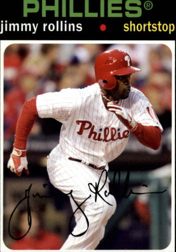 Photo of 2012 Topps Archives #71 Jimmy Rollins