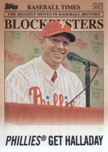 Photo of 2012 Topps Update Blockbusters #BB21 Roy Halladay