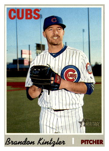 Photo of 2019 Topps Heritage #667 Brandon Kintzler