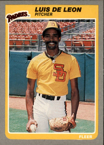 Photo of 1985 Fleer #29 Luis DeLeon
