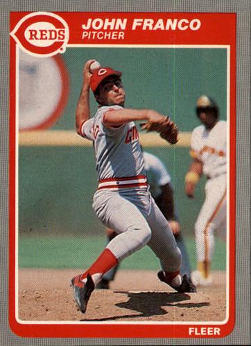 Photo of 1985 Fleer #536 John Franco
