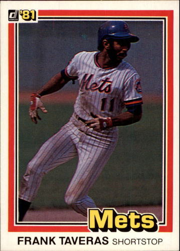 Photo of 1981 Donruss #154 Frank Taveras