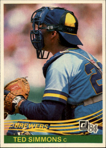Photo of 1984 Donruss #473 Ted Simmons