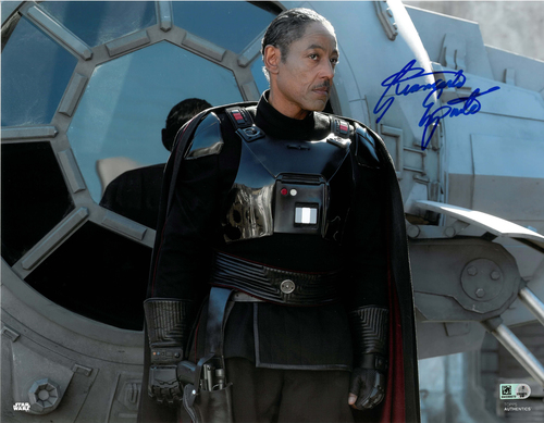 Giancarlo Esposito As Moff Gideon 11x14 AUTOGRAPHED IN 'Blue' INK PHOTO
