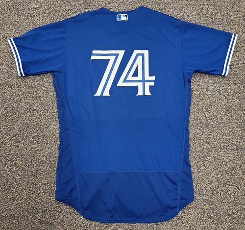 Photo of Authenticated Team Issued 2020 Spring Training Jersey: #74 Brock Lundquist. Size 44