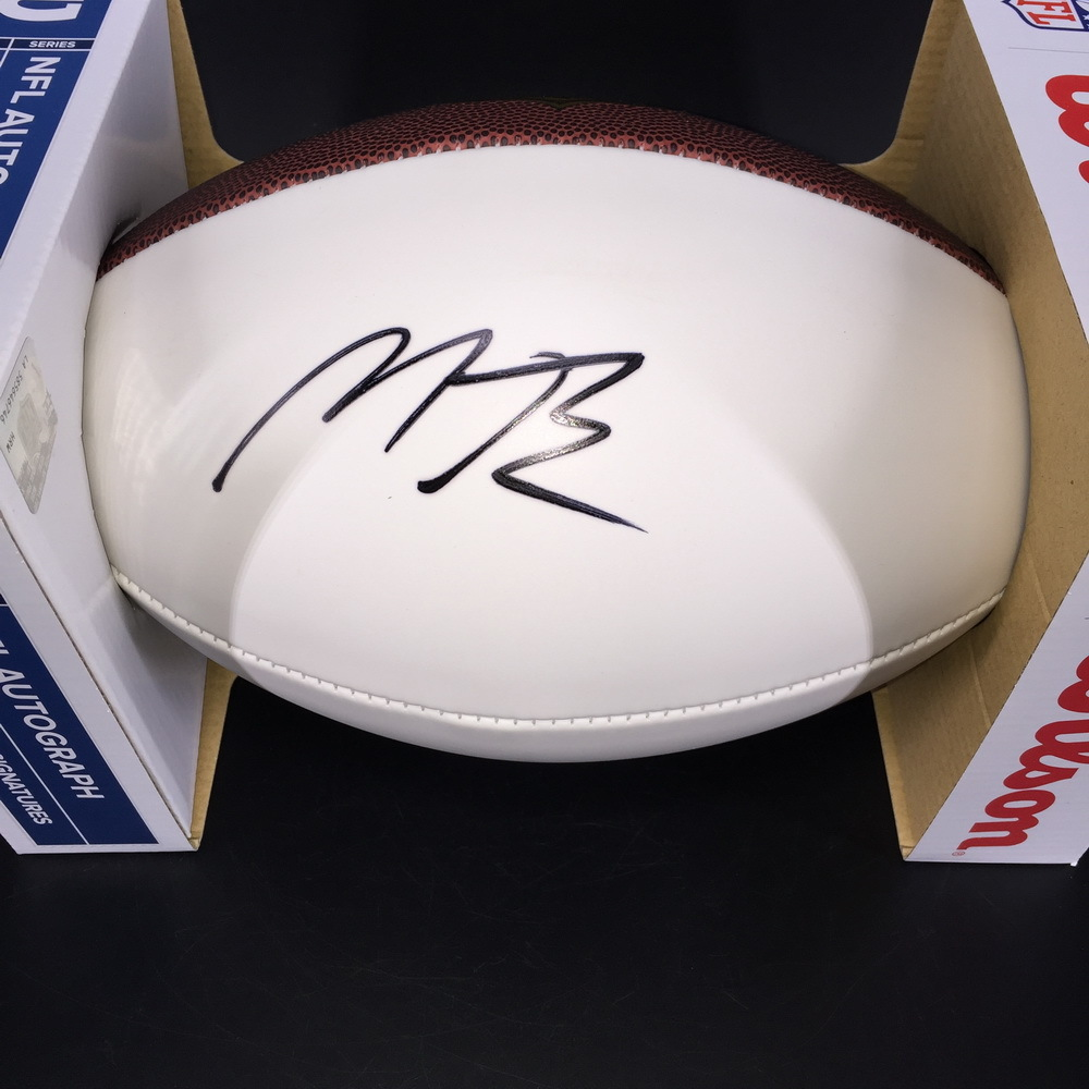 NFL - Ravens Miles Boykin Signed Panel Ball