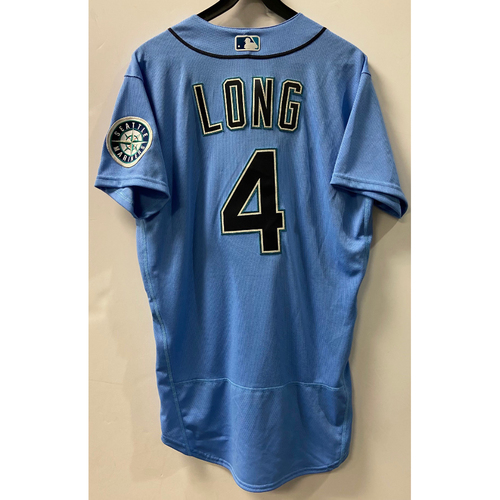 Team Issued 2020 Jersey - Shed Long #4 Light Blue Jersey