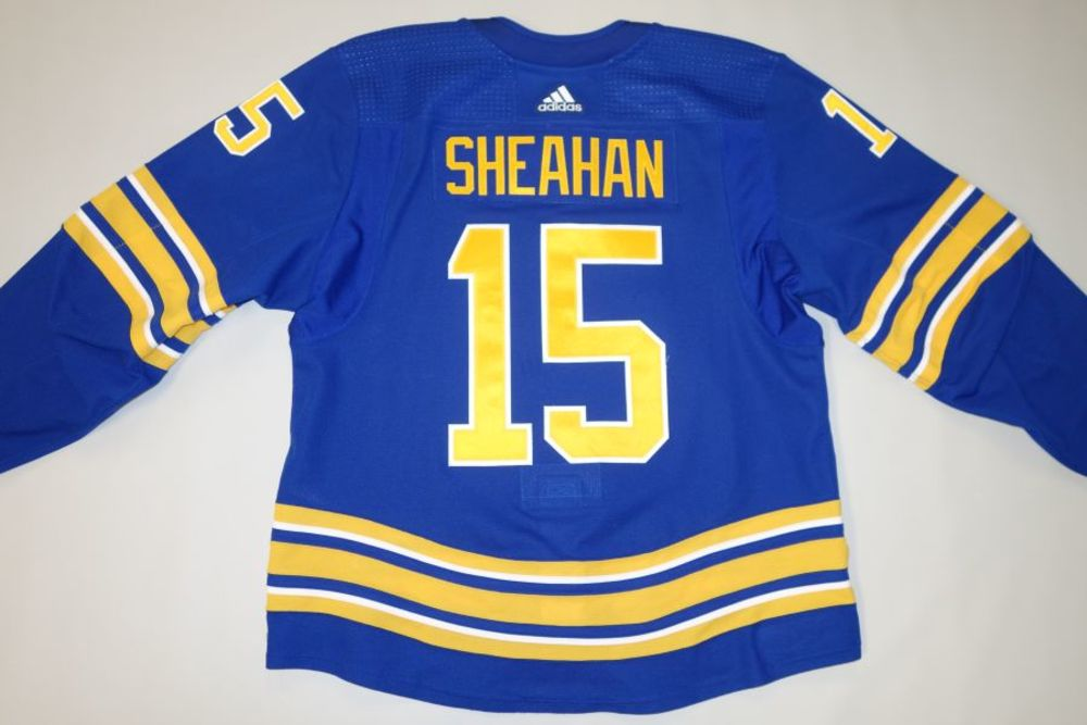 Riley Sheahan 2020-21 Buffalo Sabres Set 1 Home Jersey