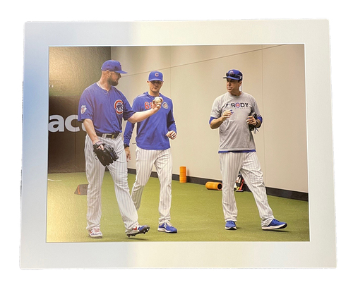 Photo of Clubhouse Photo -- Coaches in Bullpen -- Size 24 X 30 in.