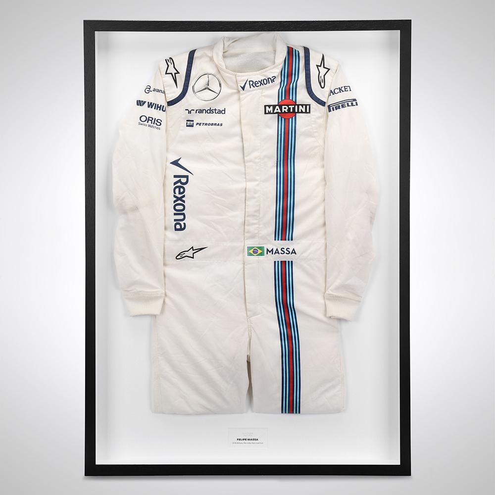 Felipe Massa 2016 Race Used Race Suit