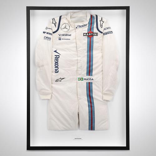 Photo of Felipe Massa 2016 Race Used Race Suit