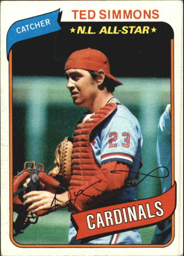 Photo of 1980 Topps #85 Ted Simmons