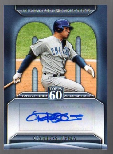Photo of 2011 Topps 60 Autographs #CP Carlos Pena S2