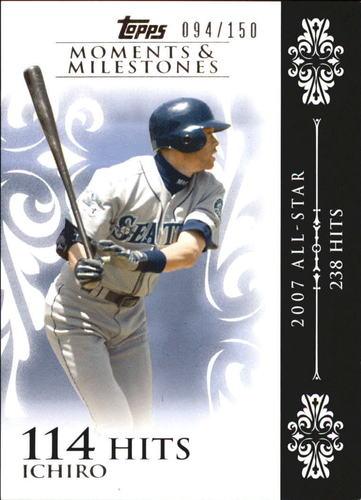 Photo of 2008 Topps Moments and Milestones #63-114 Ichiro Suzuki