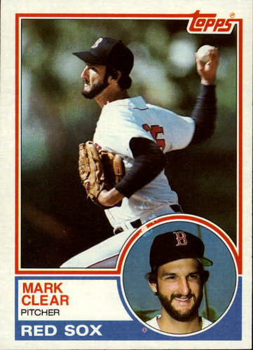 Photo of 1983 Topps #162 Mark Clear