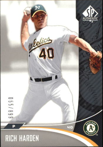 Photo of 2006 SP Authentic #163 Rich Harden