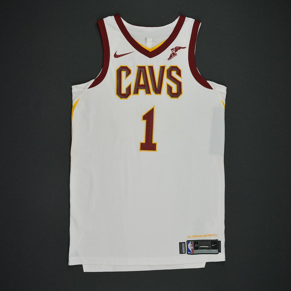 Derrick rose cleveland cavaliers opening night game worn jersey charity  auction jpg 1000x1000 Cavs home jersey abd86155f