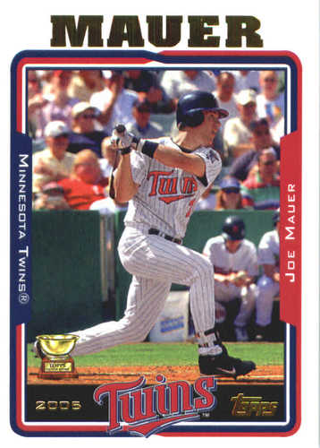 Photo of 2017 Topps Update All Rookie Cup #ARC10 Joe Mauer -- REPRINT