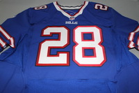 BILLS - RON DARBY SIGNED AUTHENTIC BILLS JERSEY - SIZE 52