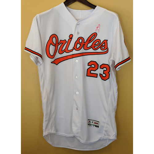 Photo of Joey Rickard - 2-HR Mother's Day Jersey: Game-Used