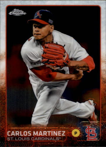 Photo of 2015 Topps Chrome #74 Carlos Martinez