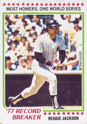 Photo of 1978 Topps #7 Reggie Jackson RB