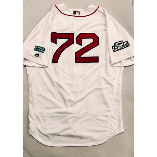 2019 London Series - Game-Used Jersey - Josh Taylor, New York Yankees vs Boston Red Sox - 6/29/19