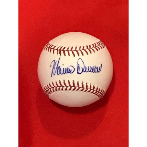 Photo of Mariano Duncan Autographed Baseball