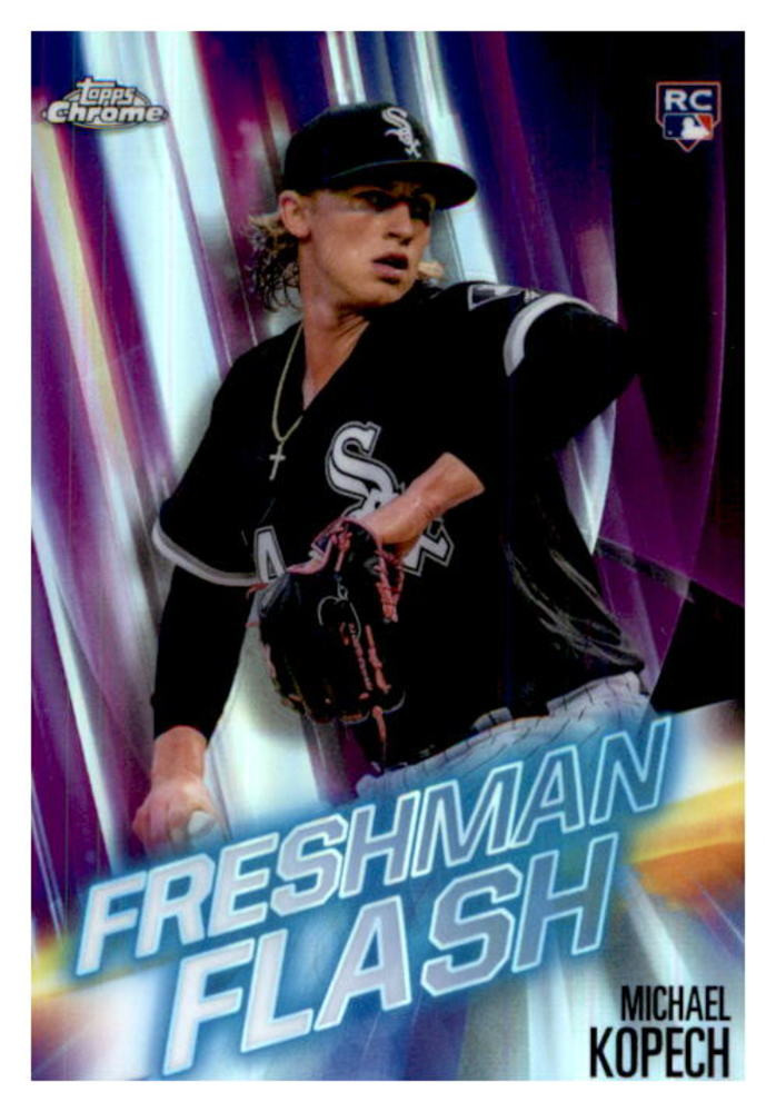 2019 Topps Chrome Freshman Flash #FF14 Michael Kopech