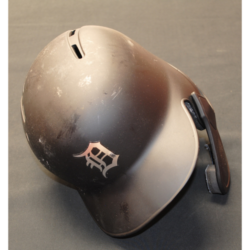 "Photo of Jake ""Rog"" Rogers Detroit Tigers Game-Used 2019 Players' Weekend Helmet"