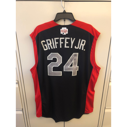Photo of Compton Youth Academy Auction: Ken Griffey Jr. Autographed National League All -Star Futures Game Jersey