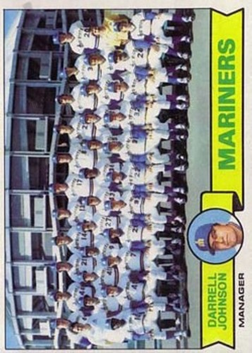 Photo of 1979 Topps #659 Seattle Mariners CL/Darrell Johnson MG
