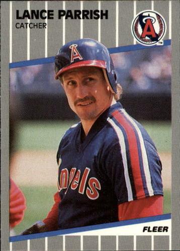 Photo of 1989 Fleer Update #15 Lance Parrish