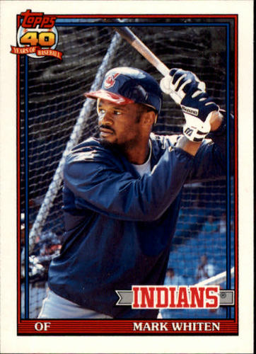 Photo of 1991 Topps Traded #126T Mark Whiten