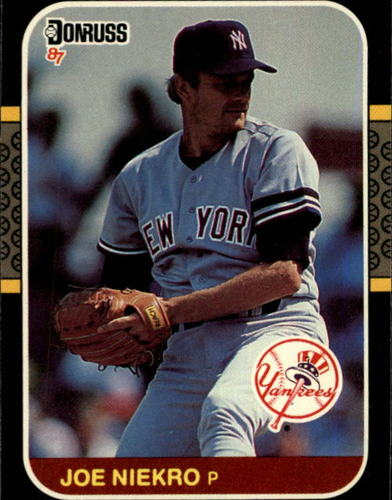 Photo of 1987 Donruss #217 Joe Niekro