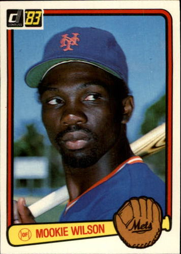 Photo of 1983 Donruss #56 Mookie Wilson
