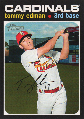 Photo of 2020 Topps Heritage #304 Tommy Edman