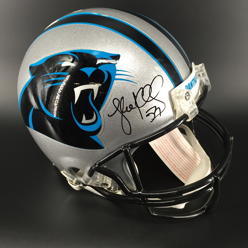 Panthers - Luke Kuechly Signed Proline Helmet