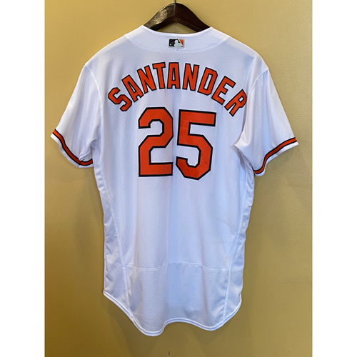 Photo of Anthony Santander - Opening Day Home Jersey - Game-Used