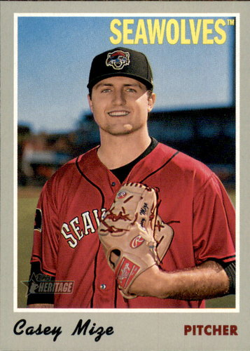 Photo of 2019 Topps Heritage Minors #50 Casey Mize