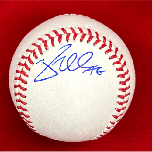 Photo of Brad Miller Autographed Baseball