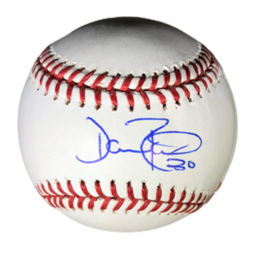Photo of Dave Roberts Authentic Autographed Baseball